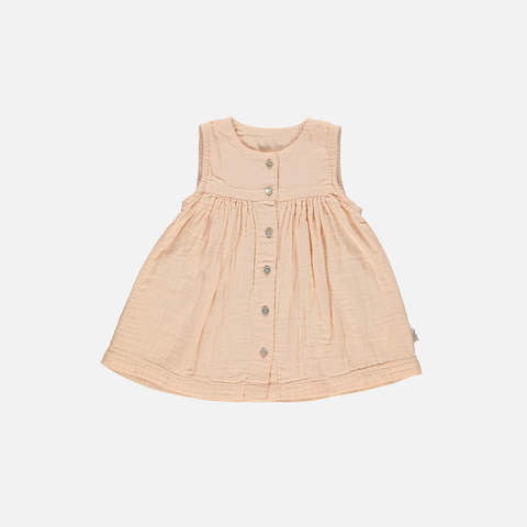 Organic Cotton Dress - Apple Blossom - 3-8y