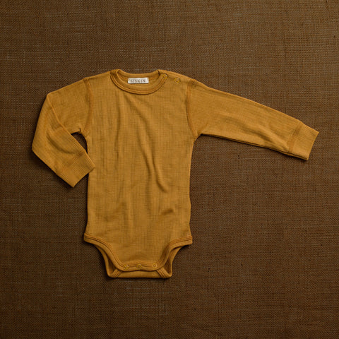 Merino Wool Rib Body - Ochre