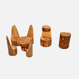 Handmade Wooden Kitchen Furniture Set