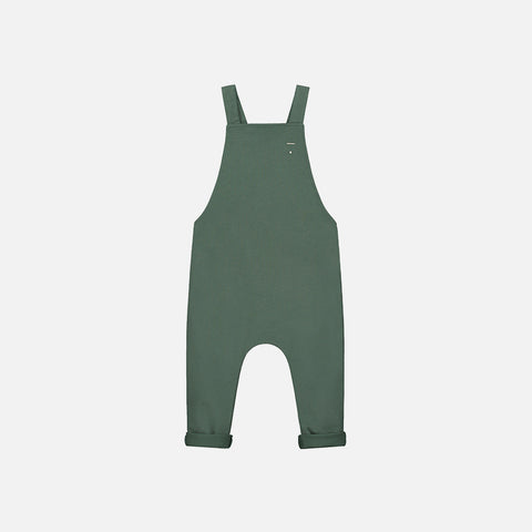 Organic Cotton Salopette - Sage - 12m-8y