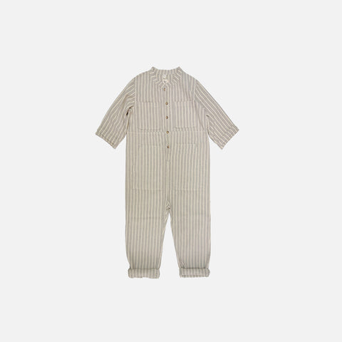 Saturn Striped Jumpsuit - Cosmic - 2-8y