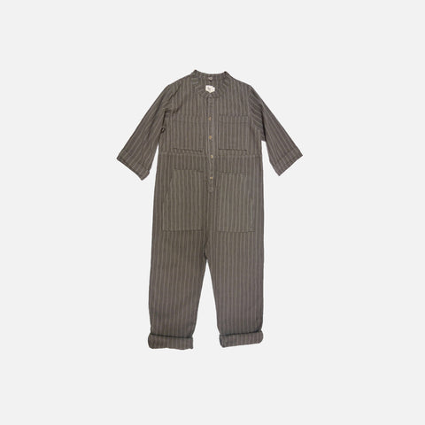 Saturn Striped Jumpsuit - Moon - 2-8y
