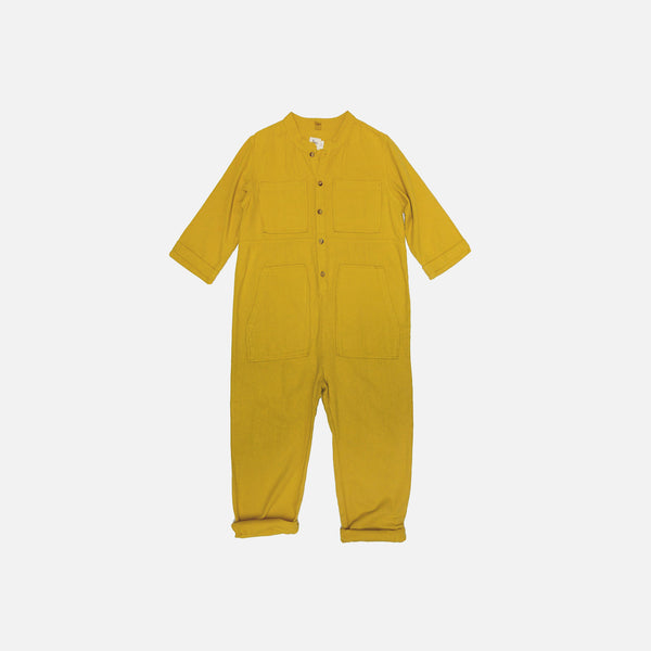 Saturn Flannel Jumpsuit - Star - 2-8y