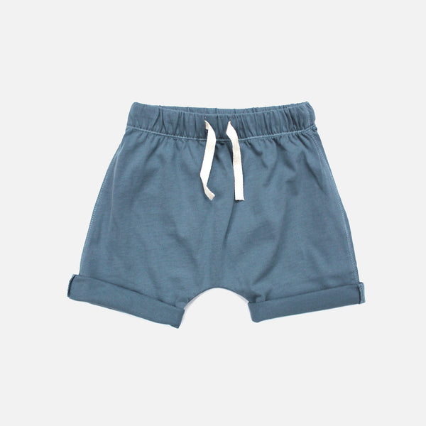 Organic Cotton Shorts - Denim - 12m-8y