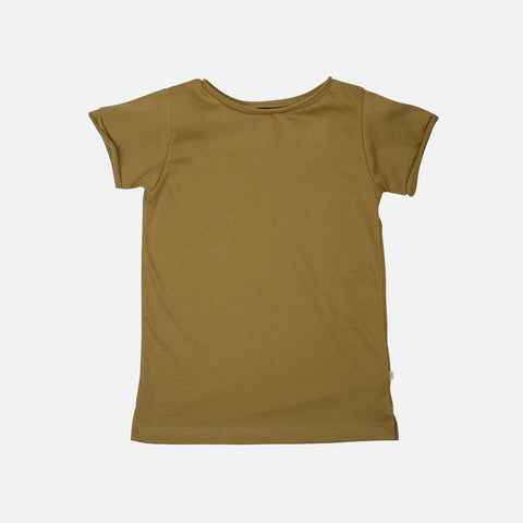 Organic Cotton SS Storm Tee - Golden Leaf - 1-10y