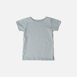 Organic Cotton SS Storm Tee - Powder Blue - 1-10y
