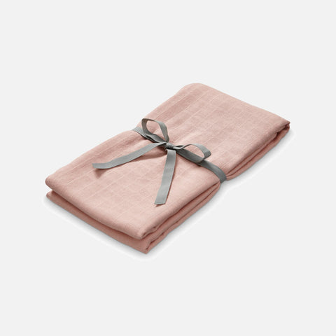 Organic Cotton Swaddle - Blush