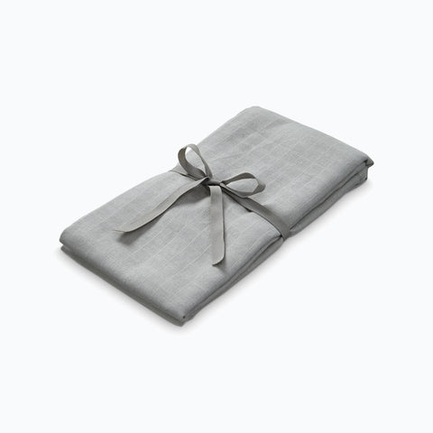 Organic Cotton Swaddle - Grey