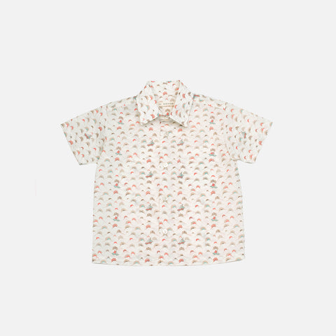 Pima Cotton Theo Shirt - Liberty of London - 12m-3y
