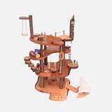 Handmade Large Wooden Treehouse