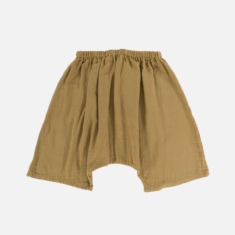 Organic Cotton Tommy Shorts - Light Oak