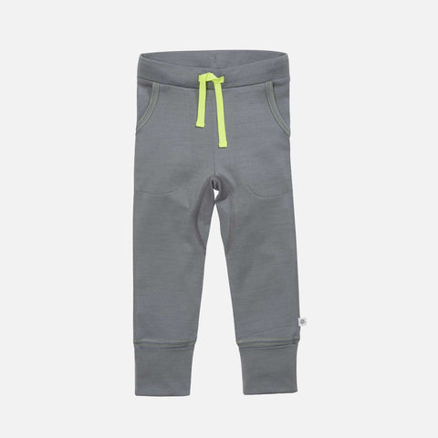 Supersoft Merino 24 Hour Trouser - London Fog - 2-14y