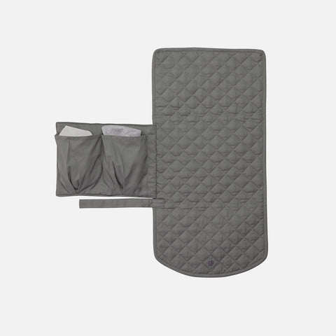 Organic Changing Mat - Storm Grey