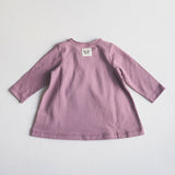 Organic Cotton Heather Tea Tunic - Solid Heather - 3m-1y