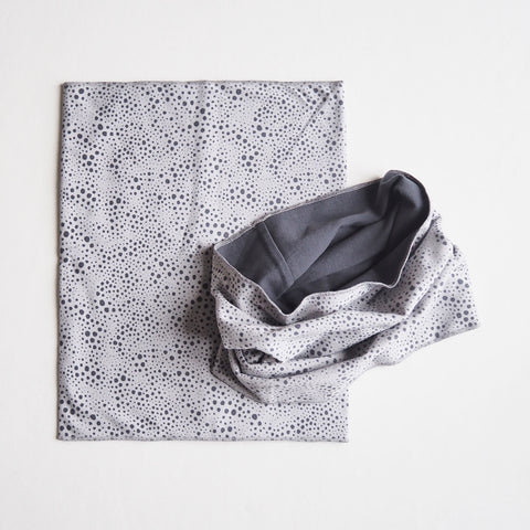 Organic Cotton Tore Snood - Grey -1-7y
