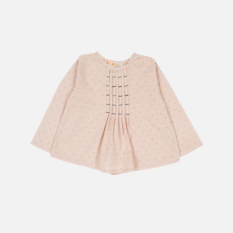 Organic Cotton Willow Blouse - Dots - 6m-8y