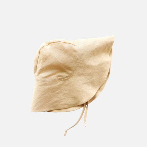 Linen Sunbonnet - Wheat
