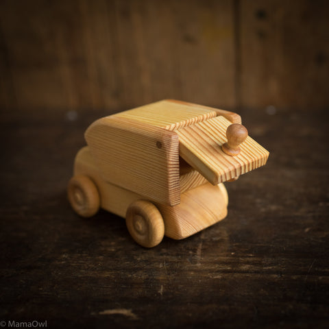 Wooden Small Delivery Van