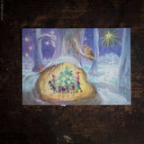 Advent Calendar - Gnomes Around the Christmas Tree - Small