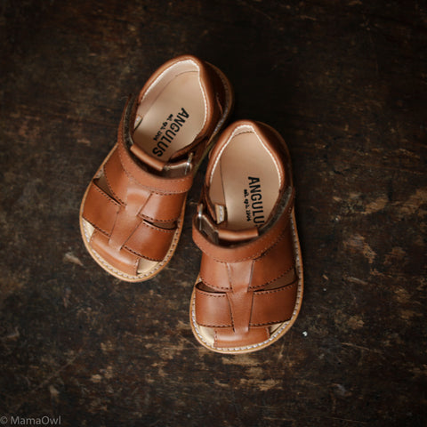 Fisherman Toddler Sandals - Tan - 20(UK4) - 25(UK8)