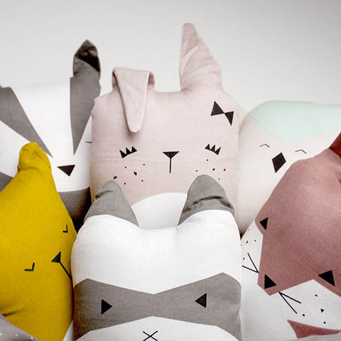 Organic Cotton Animal Friends - Cute Bunny