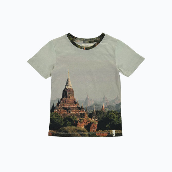 Organic Cotton Tee - Asian- 3-4y