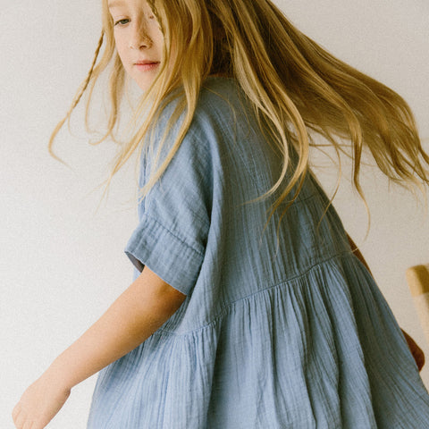 Cotton Una Dress - Dandelion - 2-10y