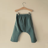 Cotton Kyoto Pants - Sea Glass - 2-10y