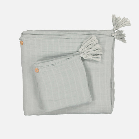 Cotton Charlie & Ninon Bedding Set - Almond - Single