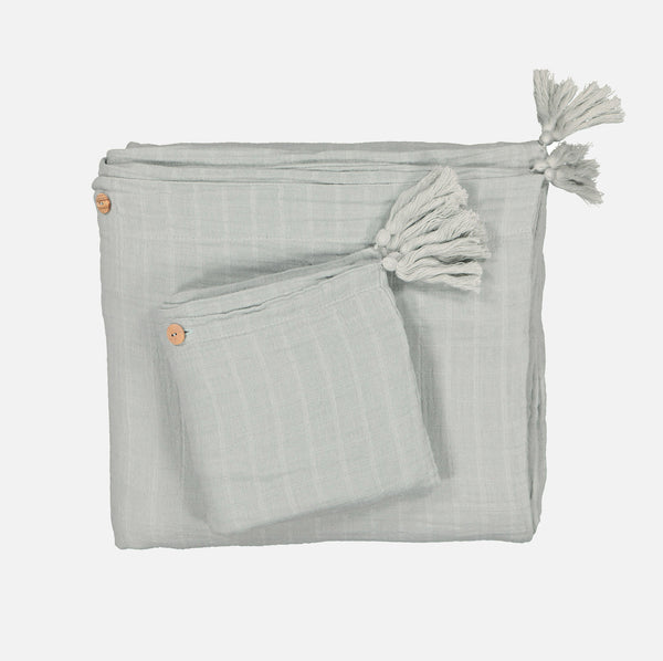 Cotton Charlie & Ninon Bedding Set - Almond - Junior