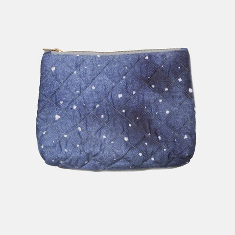 Organic Cotton Zip Pouch - Dreamy Cloud