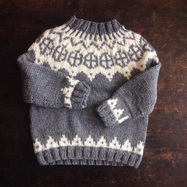 Palle Wool/Alpaca Sweater - Light Grey - 1-10y
