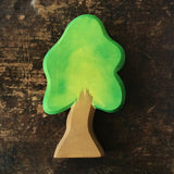 Handcrafted Small Oak Tree With Stand