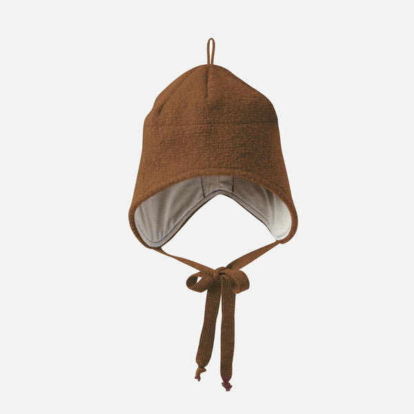 Boiled Wool Hat - Hazelnut