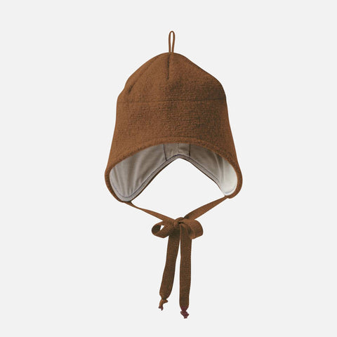 Boiled Wool Hat - Hazelnut - 6m-5y