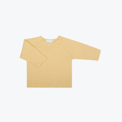 Organic Cotton Top with Side Closure - Corn - 3-24m