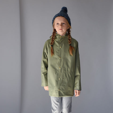 100% Waterproof Midi Raincoat - Balsam