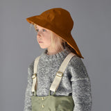 100% Waterproof Sou 'Wester hat - Acorn