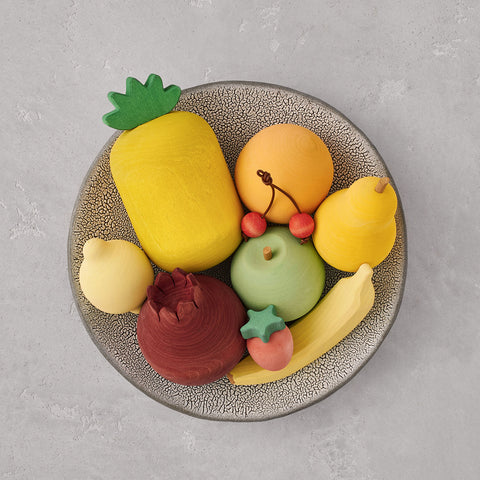 Wooden Fruits Set