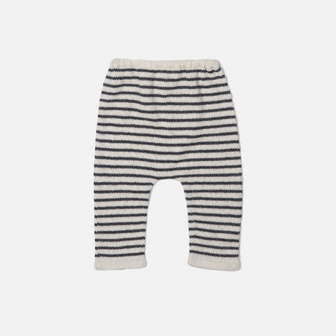 Alpaca Hammer Pants - Dark Grey/White - 4y