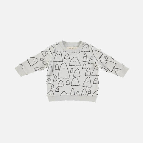Baby Ghost Sweater - Salt Sea - 6m-2y