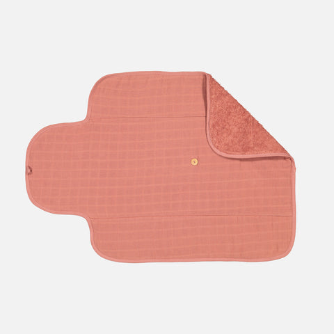Cotton Go Changing Mat - Terracotta