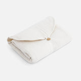 Cotton Muslin Go Changing Mat - Milk