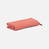 Cotton Muslin Large Swaddle - Brick - 120x120cm