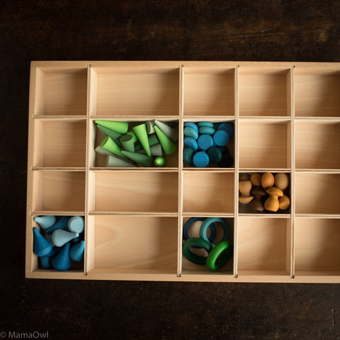 Wooden Tinker Tray