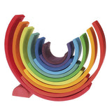 12 Piece Wooden Rainbow