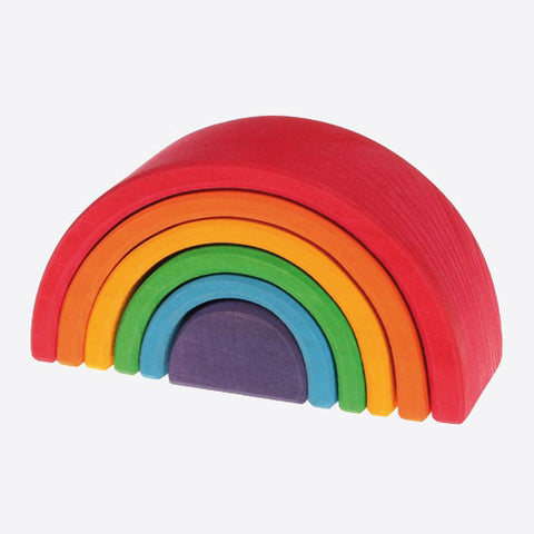 6 Piece Wooden Rainbow