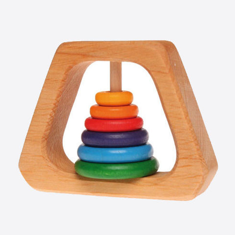 Rainbow rattle pyramid