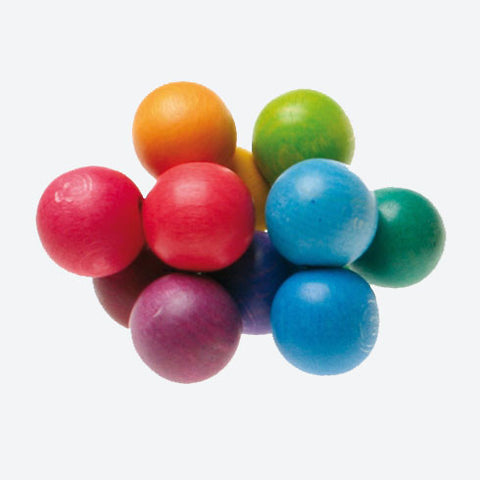 Wooden Beads Grasper - Colourful