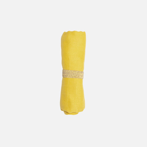 Organic Cotton Muslin - Honey